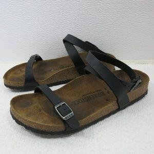 Birkenstock Birko-Flor Ankle Strap Sandals 37 L6,